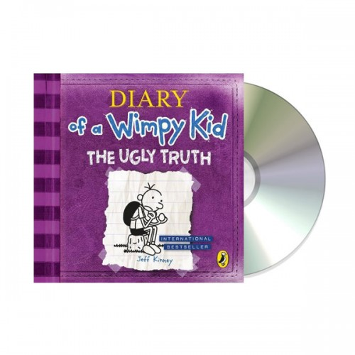 Diary of a Wimpy Kid #05 : The Ugly Truth (Audio CD,영국판)(도서미포함)