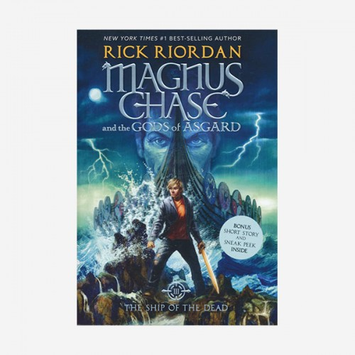 Magnus Chase and the Gods of Asgard #03 : The Ship Of The Dead (Paperback)