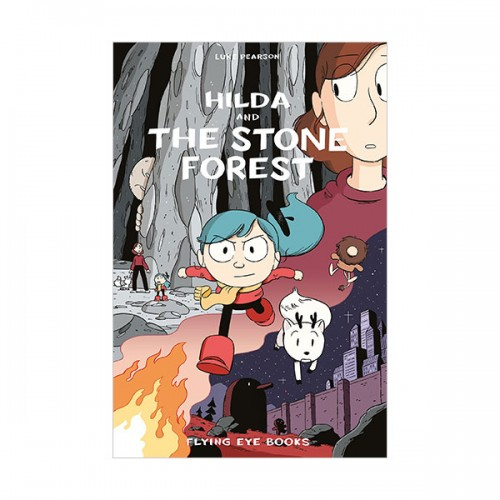 [넷플릭스]  Hildafolk #05 : Hilda and the Stone Forest (Paperback, 영국판)