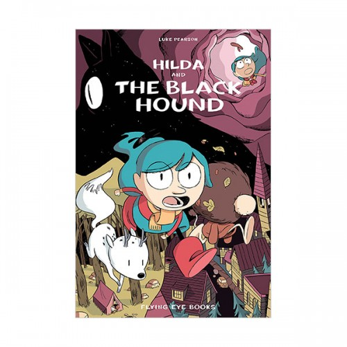 [넷플릭스] Hildafolk #04 : Hilda and the Black Hound (Paperback, 영국판)