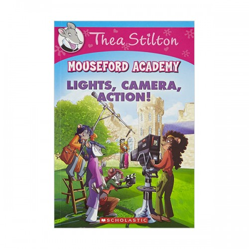Geronimo : Thea Stilton Mouseford Academy #11 : Lights Camera Action! (Paperback)