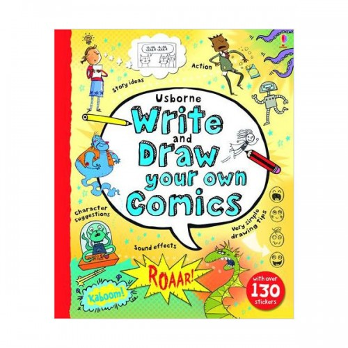 Write and Draw Your Own Comics (Spiral-bound, 영국판)