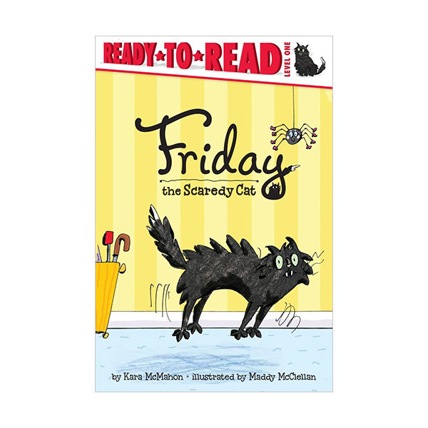 Ready to read 1 : Friday the Scaredy Cat (Paperback)