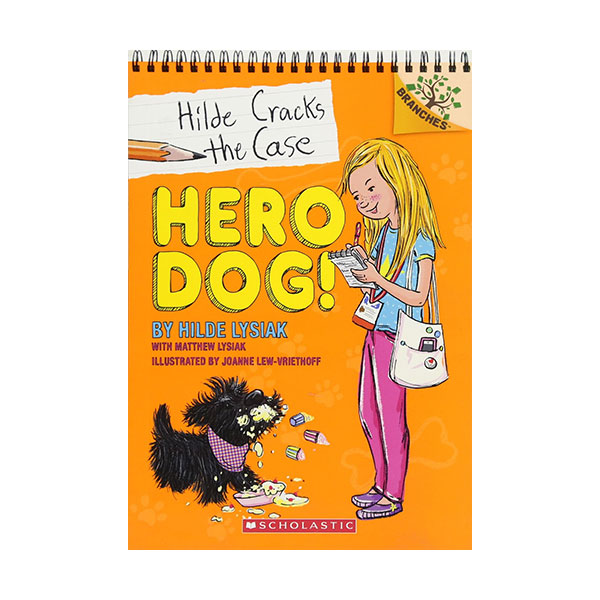Hilde Cracks the Case #01 : Hero Dog! (Paperback)