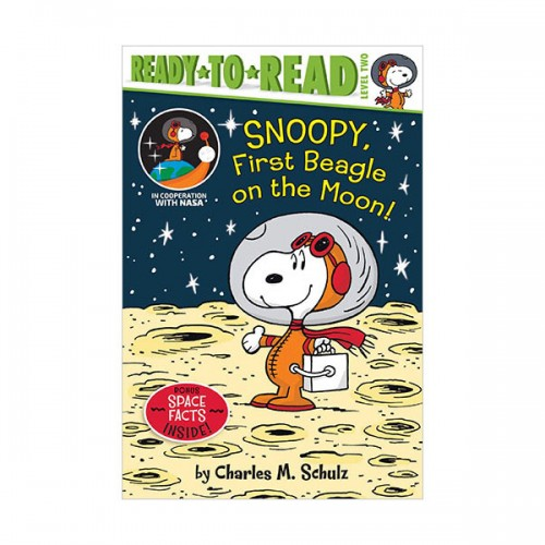 Ready To Read 2 : Peanuts : Snoopy, First Beagle on the Moon! (Paperback)