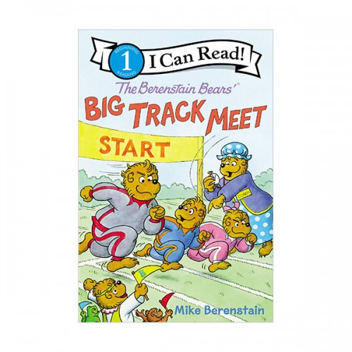 I Can Read 1 : The Berenstain Bears' Big Track Meet (Paperback)
