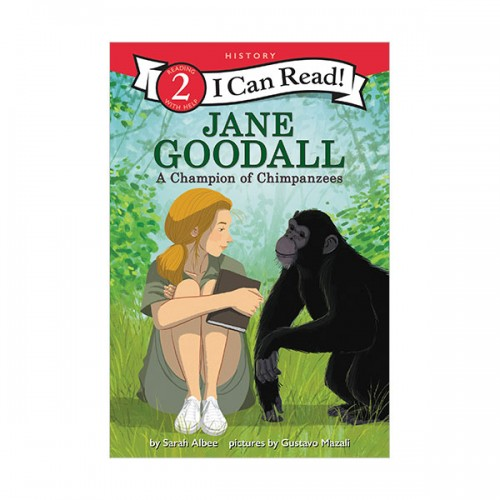 I Can Read  2 : Jane Goodall : A Champion of Chimpanzees (Paperback)