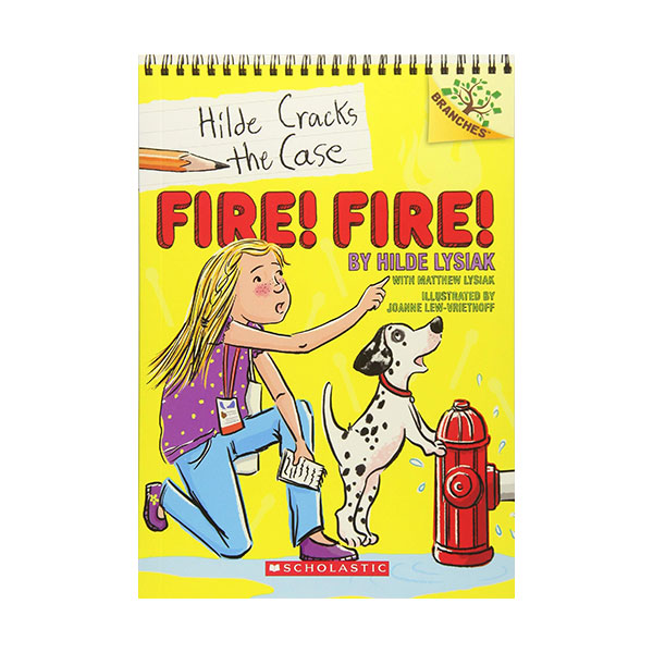 Hilde Cracks the Case #03 : Fire! Fire! (Paperback)