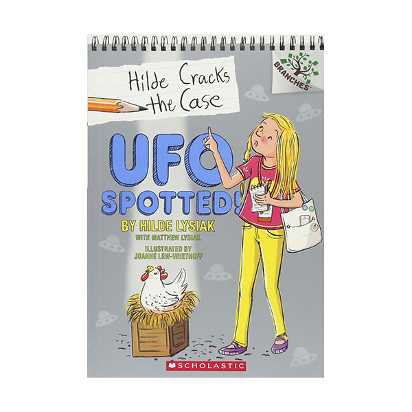 Hilde Cracks the Case #04 : UFO Spotted! (Paperback)
