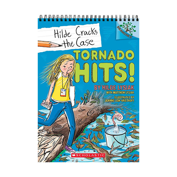 Hilde Cracks the Case #05 : Tornado Hits! (Paperback)