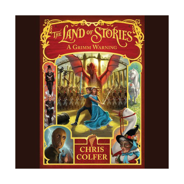 The Land of Stories #03 : A Grimm Warning (Unabridged, Audio CD)(도서미포함)