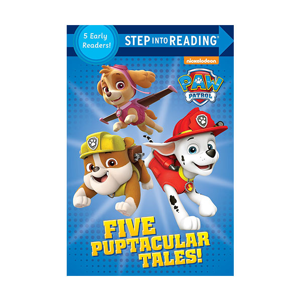 Step into Reading 1&2 : PAW Patrol : Five Puptacular Tales! (Paperback)