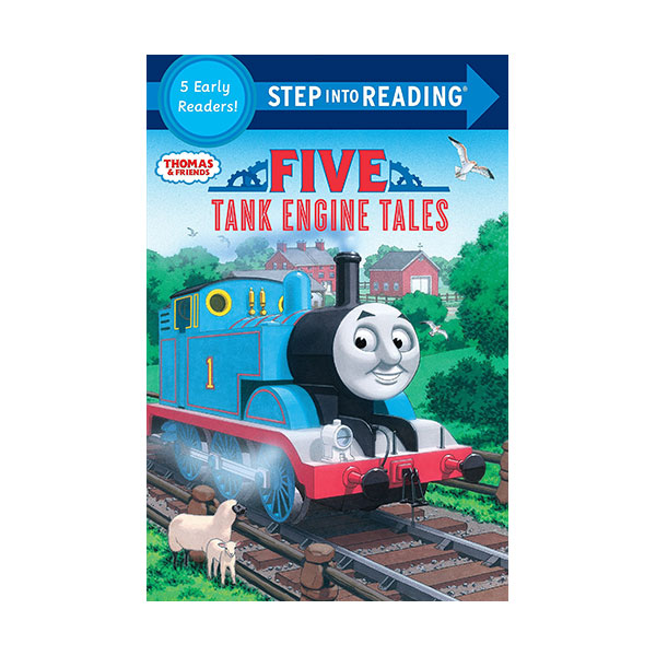 Step into Reading 1&2 : Thomas & Friends : Five Tank Engine Tales (Paperback)