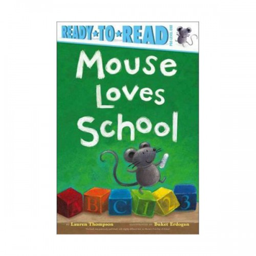 [★LOVE★] Ready to Read Pre : Mouse Loves School (Paperback)