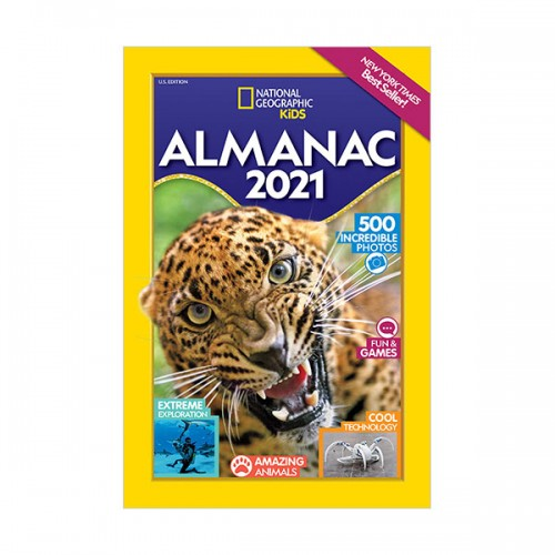 National Geographic Kids Almanac 2021, U.S. Edition (Paperback)