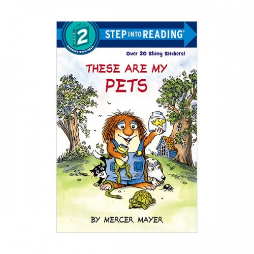 Step Into Reading 2 : These Are My Pets (Paperback)