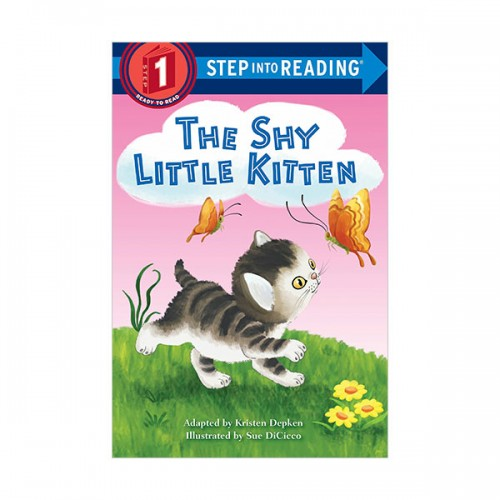 Step Into Reading 1 : The Shy Little Kitten (Paperback)
