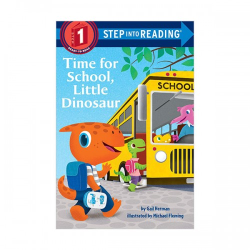 Step Into Reading 1 : Time for School, Little Dinosaur (Paperback)