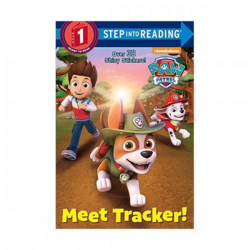Step Into Reading 1 : Paw Patrol : Meet Tracker! (Paperback)