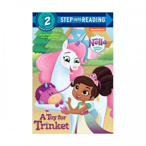 Step Into Reading 2 : Nella the Princess Knight : A Toy for Trinket (Paperback)