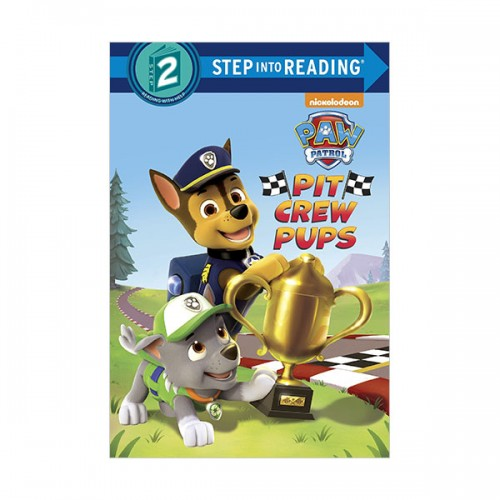 Step Into Reading 2 : PAW Patrol : Pit Crew Pups (Paperback)