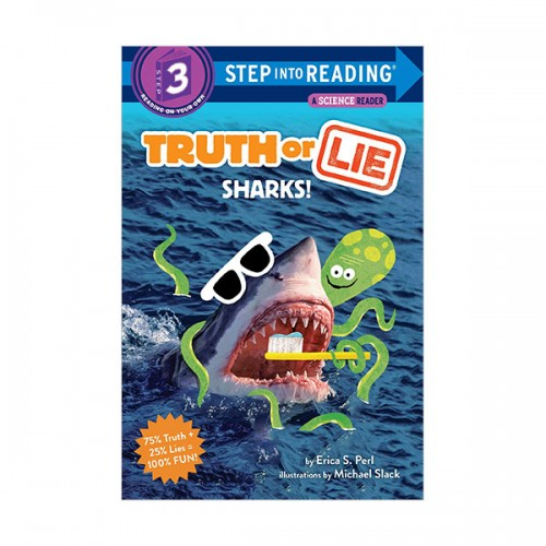 Step Into Reading 3 : Truth or Lie : Sharks! (Paperback)
