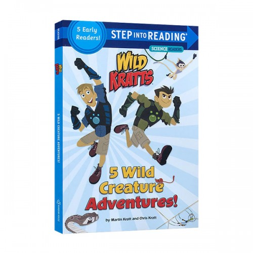 Step Into Reading 2 : Wild Kratts : 5 Wild Creature Adventures! (Paperback)
