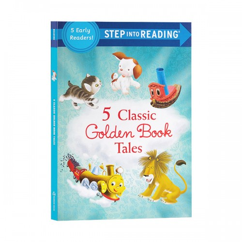 Step Into Reading 1 : Five Classic Golden Book Tales (Paperback)