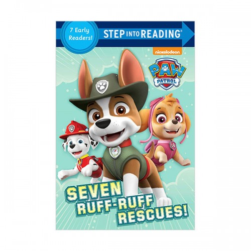 Step Into Reading 1 & 2 : Seven Ruff-Ruff Rescues!  (Paperback)