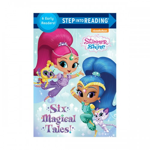 Step Into Reading 1 & 2 : Shimmer and Shine : Six Magical Tales! (Paperback)