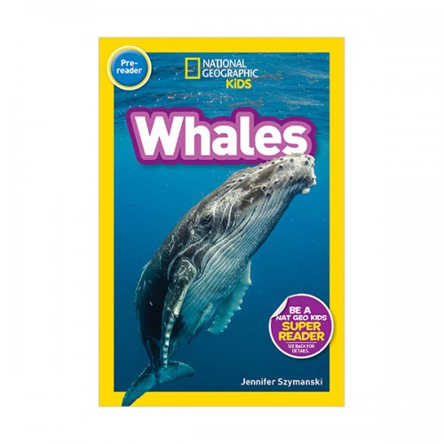 National Geographic Kids Readers Pre-Reader : Whales (Paperback)
