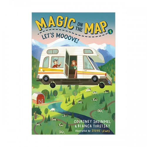 Magic on the Map #01: Let's Mooove! (Paperback)