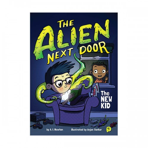 The Alien Next Door #01 : The New Kid (Paperback)