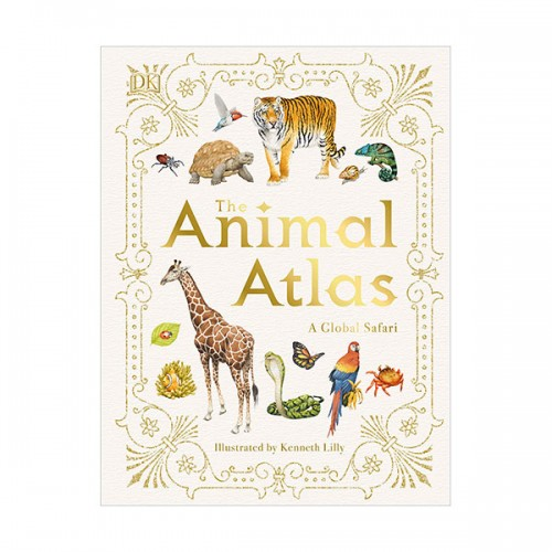 The Animal Atlas : A Pictorial Guide to the World's Wildlife (Hardcover)