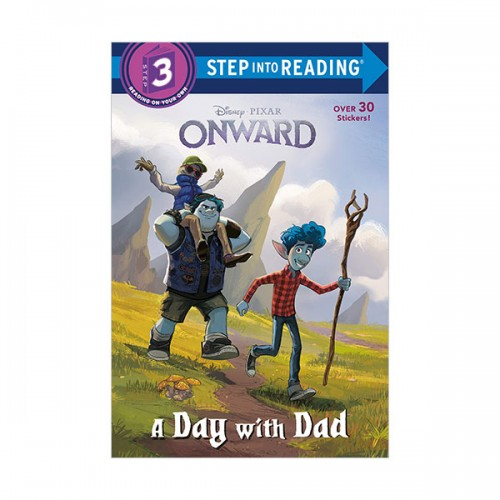 Step Into Reading 3 : Disney-Pixar Onward : A Day with Dad (Paperback)