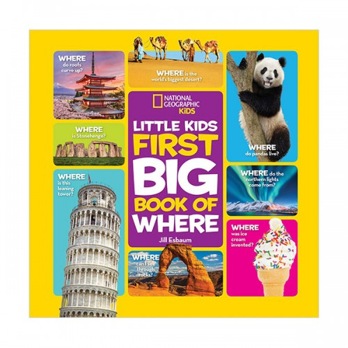 National Geographic Little Kids First Big Book of Where (Hardcover)