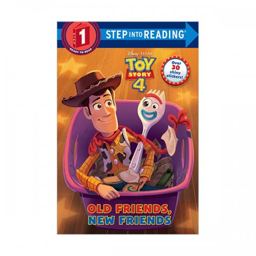 Step Into Reading 1 : Disney-Pixar Toy Story 4 :Old Friends, New Friends (Paperback)