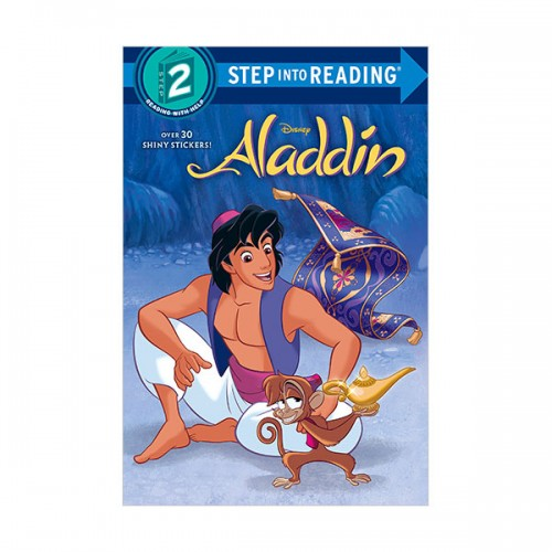 Step Into Reading 2 : Disney Aladdin : Aladdin (Paperback)