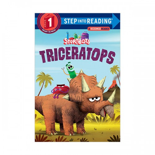 Step Into Reading 1 : StoryBots : Triceratops (Paperback)