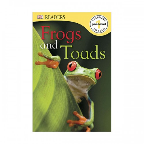 DK Readers Pre-Level : Frogs and Toads (Paperback)
