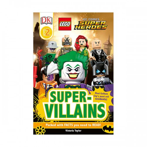 DK Readers Level 2 : LEGO DC Super Heroes : Super-Villains (Paperback)