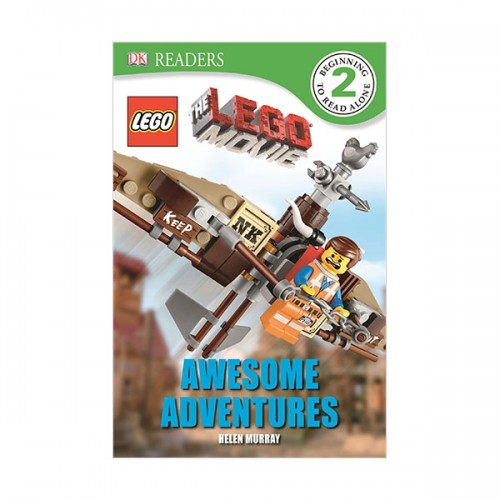 DK Readers Level 2 : The LEGO Movie : Awesome Adventures (Paperback)