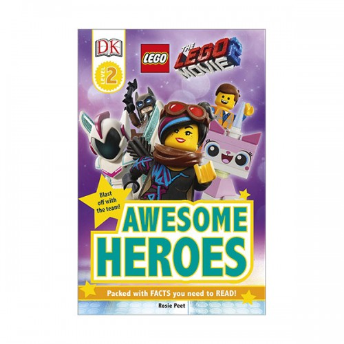 DK Readers Level 2 : The LEGO Movie 2 : Awesome Heroes (Paperback)