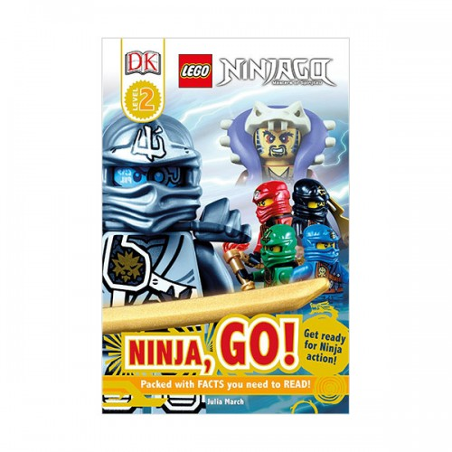 DK Readers Level 2 : LEGO® NINJAGO : Ninja, Go! : Get Ready for Ninja Action! (Paperback)