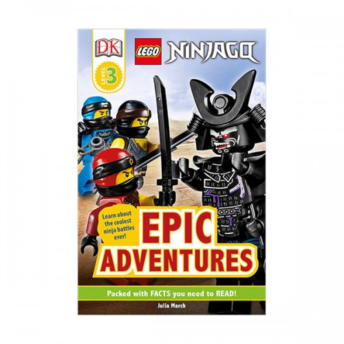 DK Readers Level 3 : LEGO NINJAGO: Epic Adventures (Paperback)