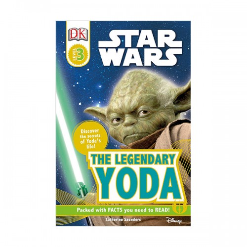 DK Readers Level 3 : Star Wars : The Legendary Yoda: Discover the Secret of Yoda's Life! (Paperback)