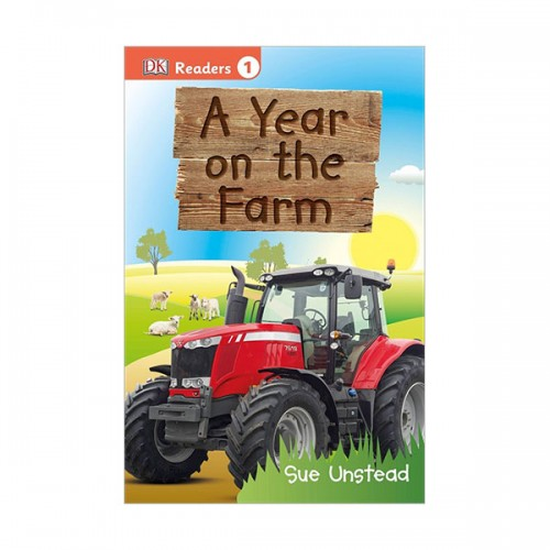 DK Readers Level 1 : A Year on the Farm (Paperback)