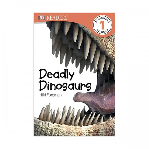 DK Readers Level 1 : Deadly Dinosaurs (Paperback)