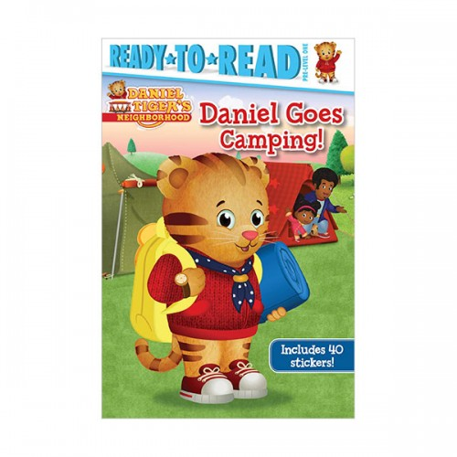 Ready To Read Pre : Daniel Tiger's Neighborhood : Daniel Goes Camping!  (Paperback)