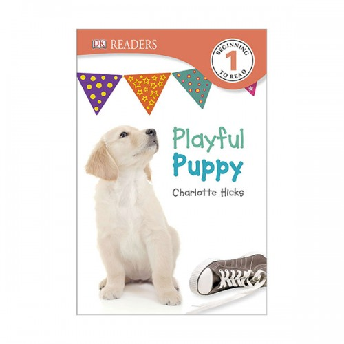 DK Readers Level 1 : Playful Puppy (Paperback)